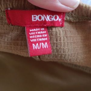 BONGO Tops - Bongo tank size medium